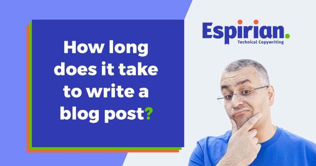 How long to write a blog?