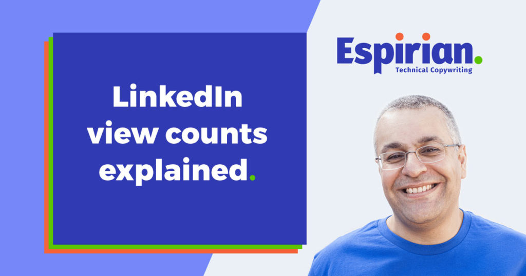 LinkedIn view counts