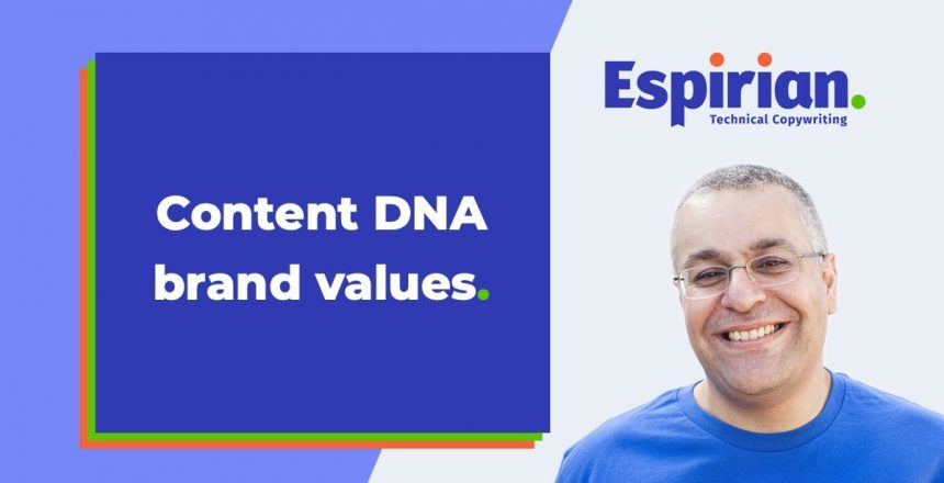 Content DNA brand values